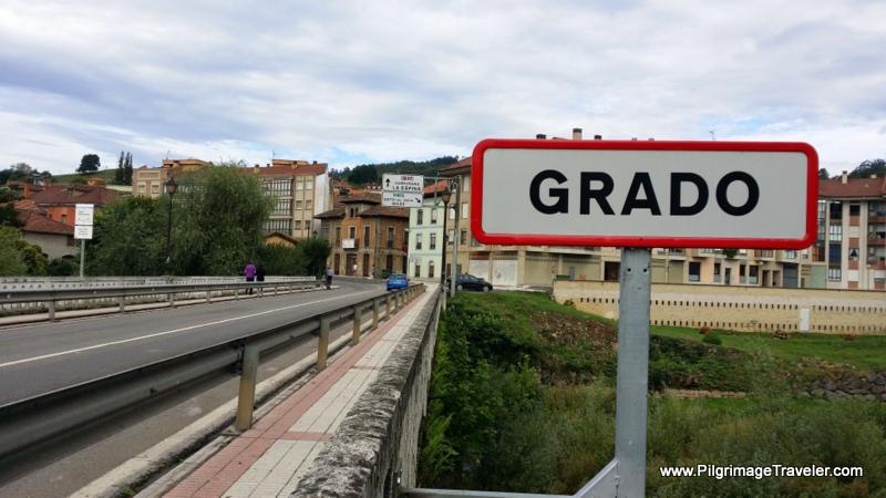Entering Grado, Asturias, Spain