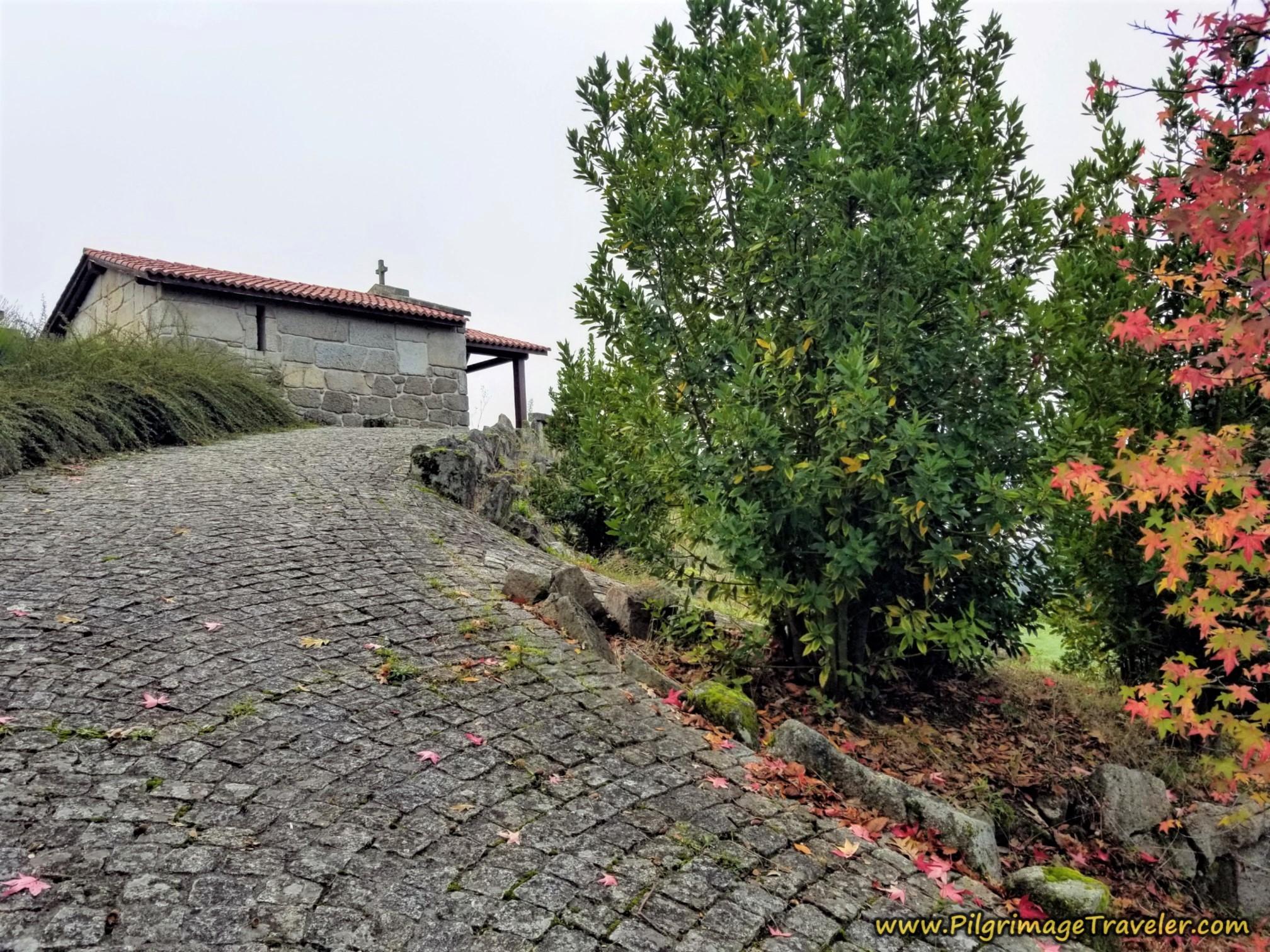 The Road to the Ermida de San Marcos da Costa