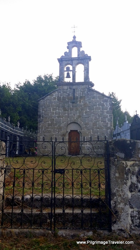 Close-Up of Church, Souto de Torres, Galicia, Spain
