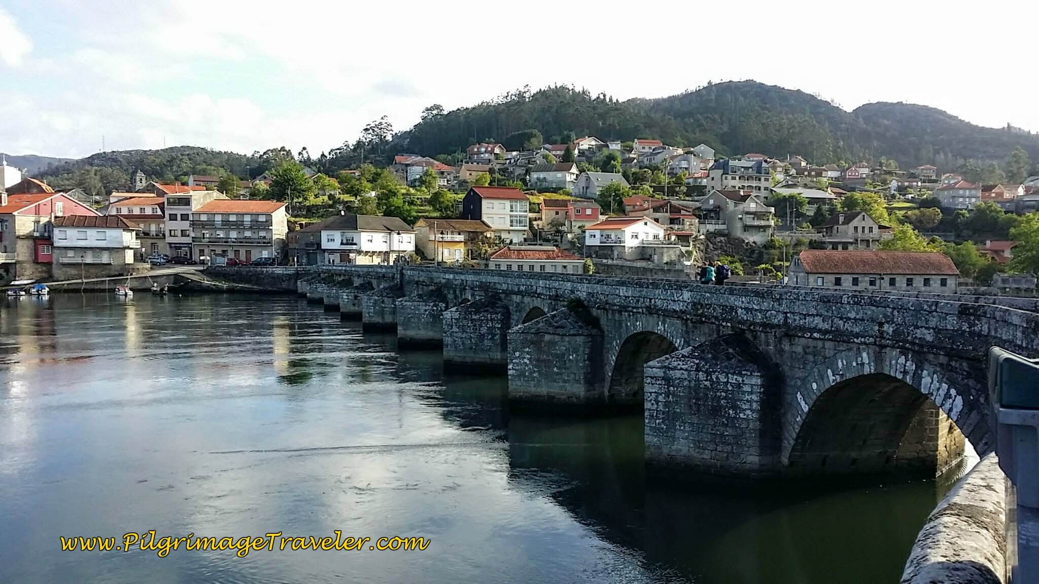Historic Medieval Bridge ~ Ponte Sampaio, in Arcade, day twenty-two on the Camino Portugués