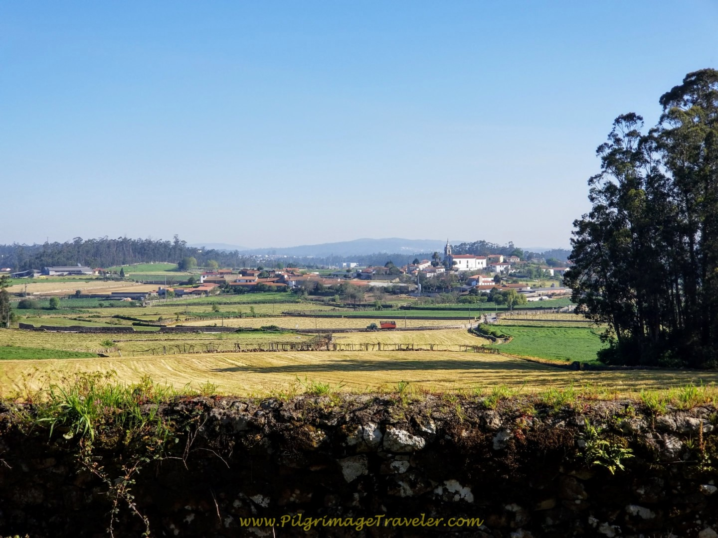 Wide Open Portuguese Countryside