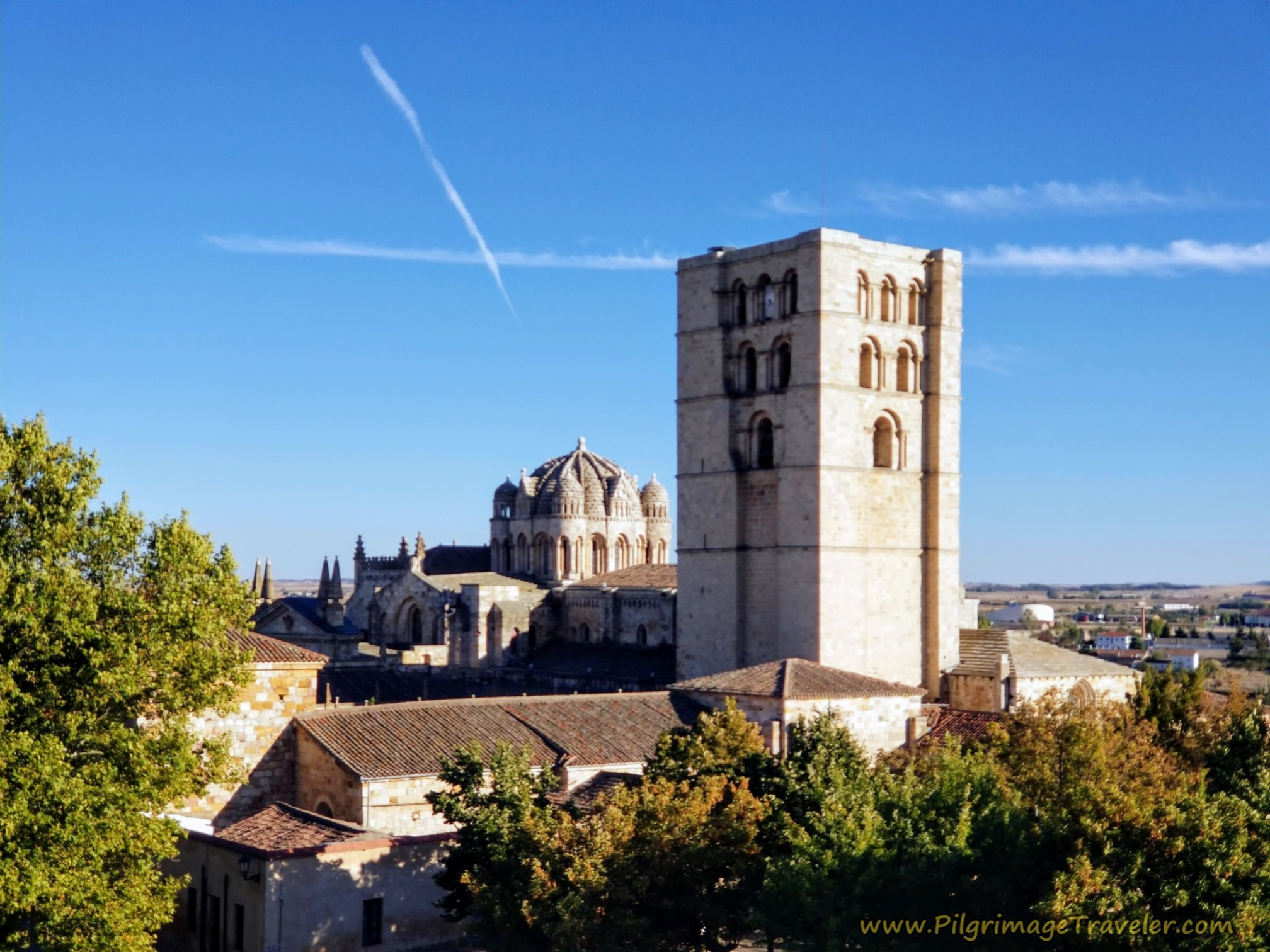 BIrd's Eye View of Zamora Cathedral