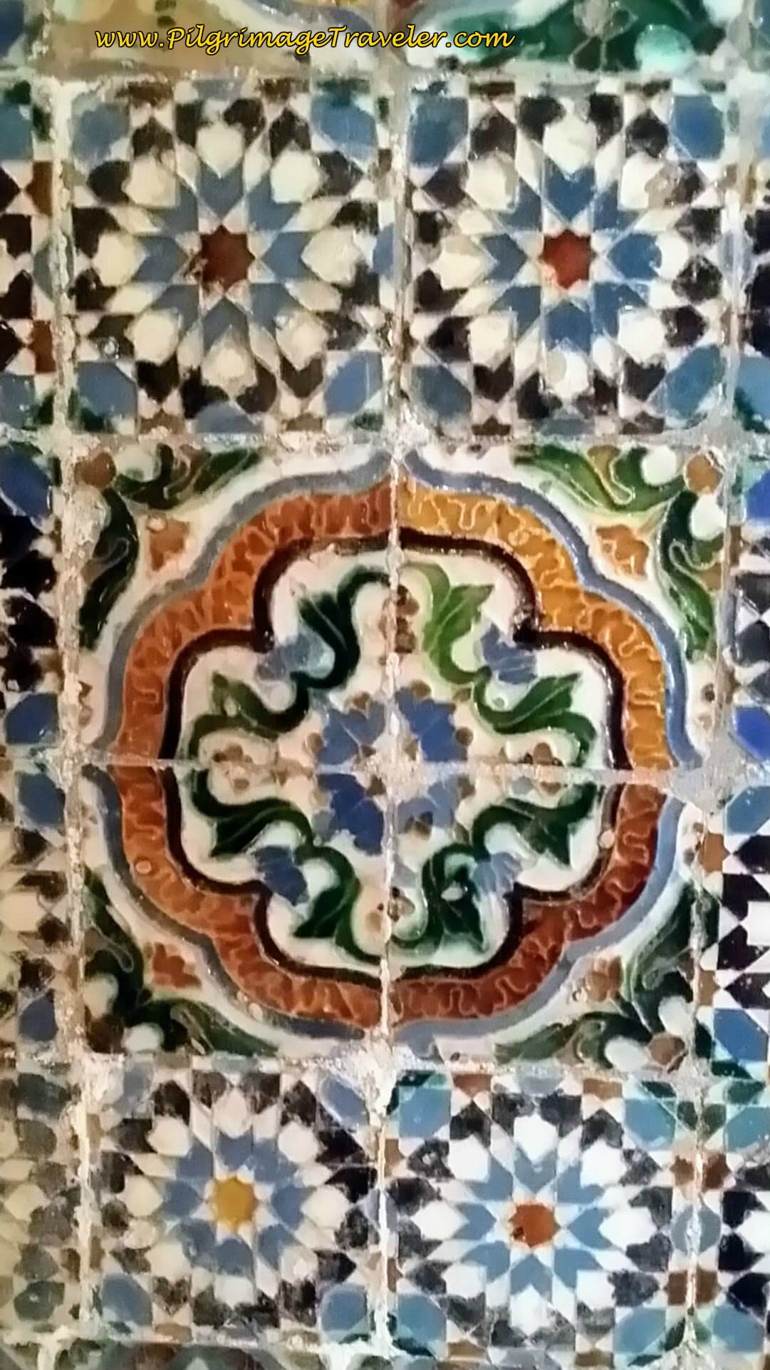 16th C. Edged Múdejar Tile from Seville
