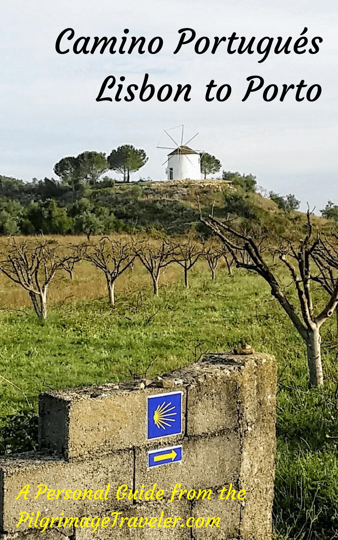 Camino Portugués Guide, Lisbon to Porto Downloadable EBook