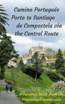 Camino Portugués EBook Guide, Porto to SdC, Central Route