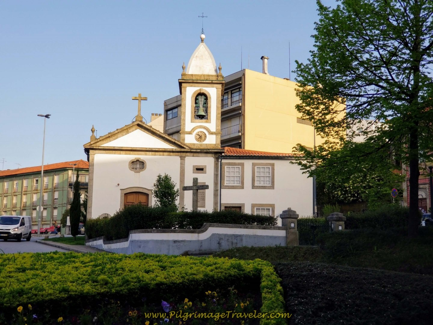 Capela da Ramada Alta in Porto on day fifteen on the Central Route of the Camino Portugués