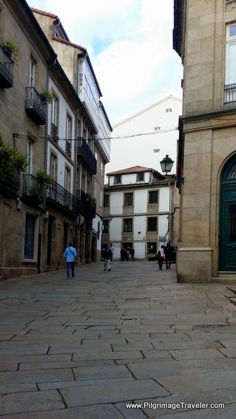Rúa das Casas Reais, Camino Frances