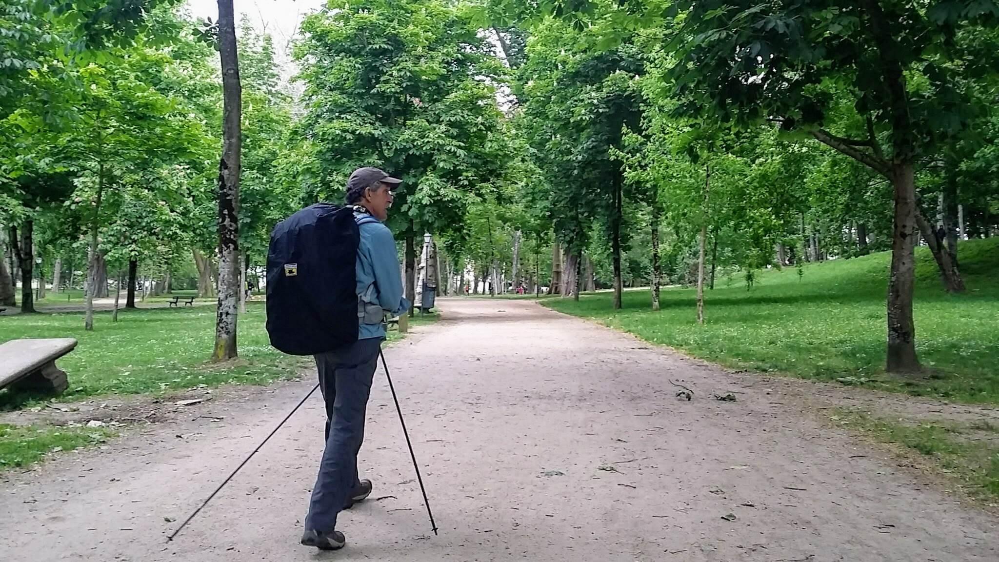 Rich, in the Parque de Castrelos, Vigo, Spain