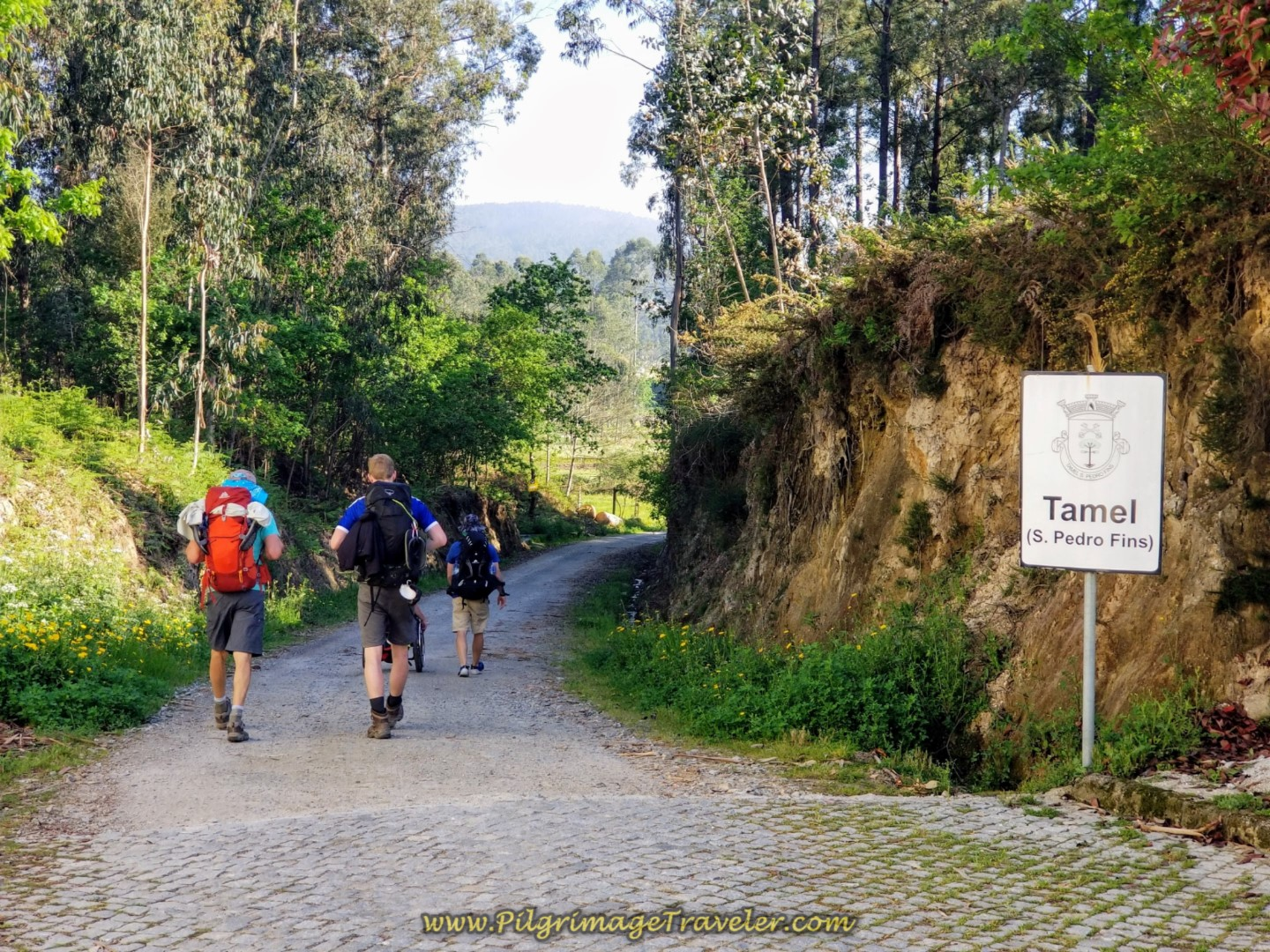 Welcome to Tamel on day seventeen on the Central Route of the Camino Portugués