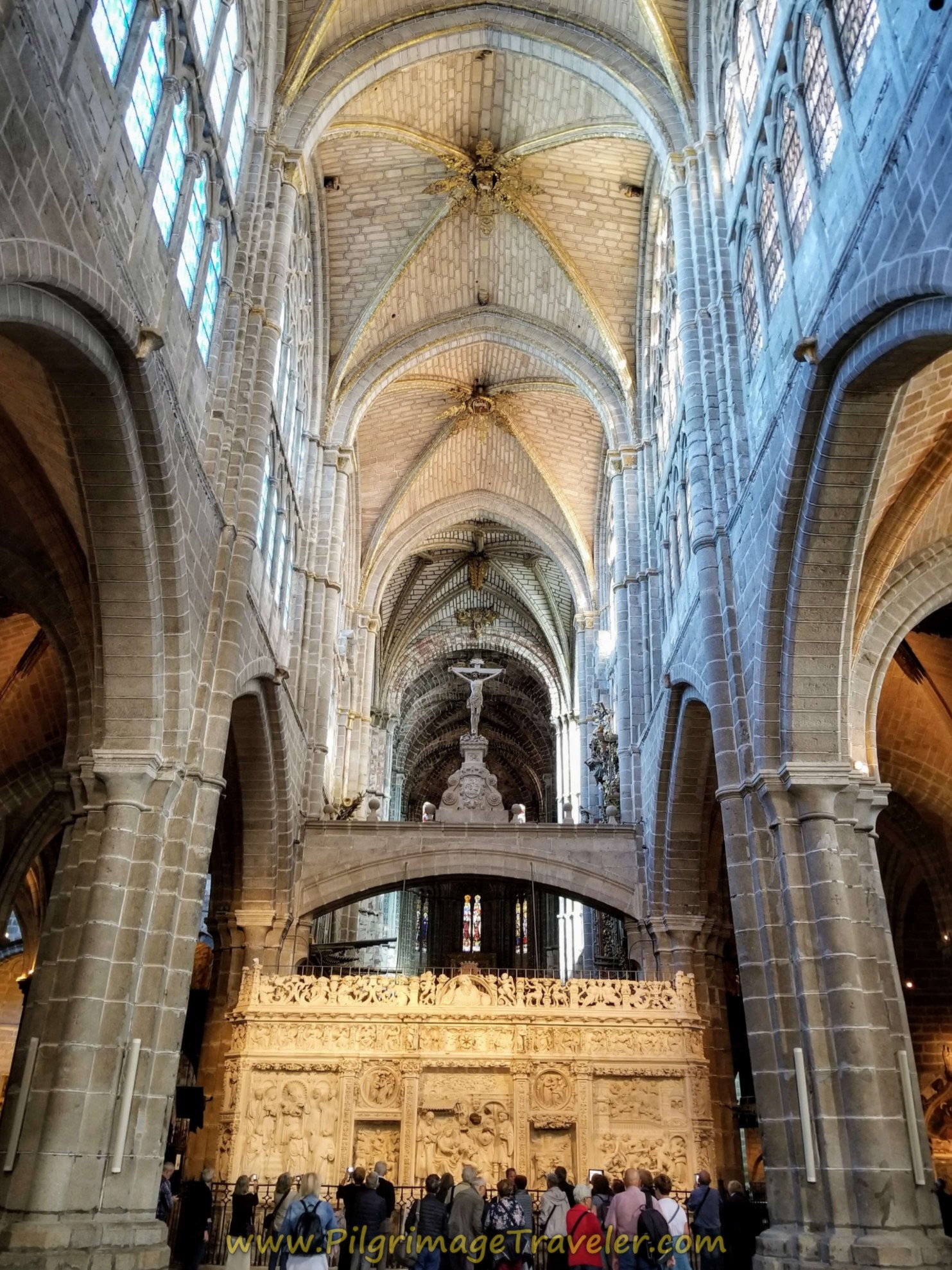 Central Nave, Cathedral of Avila