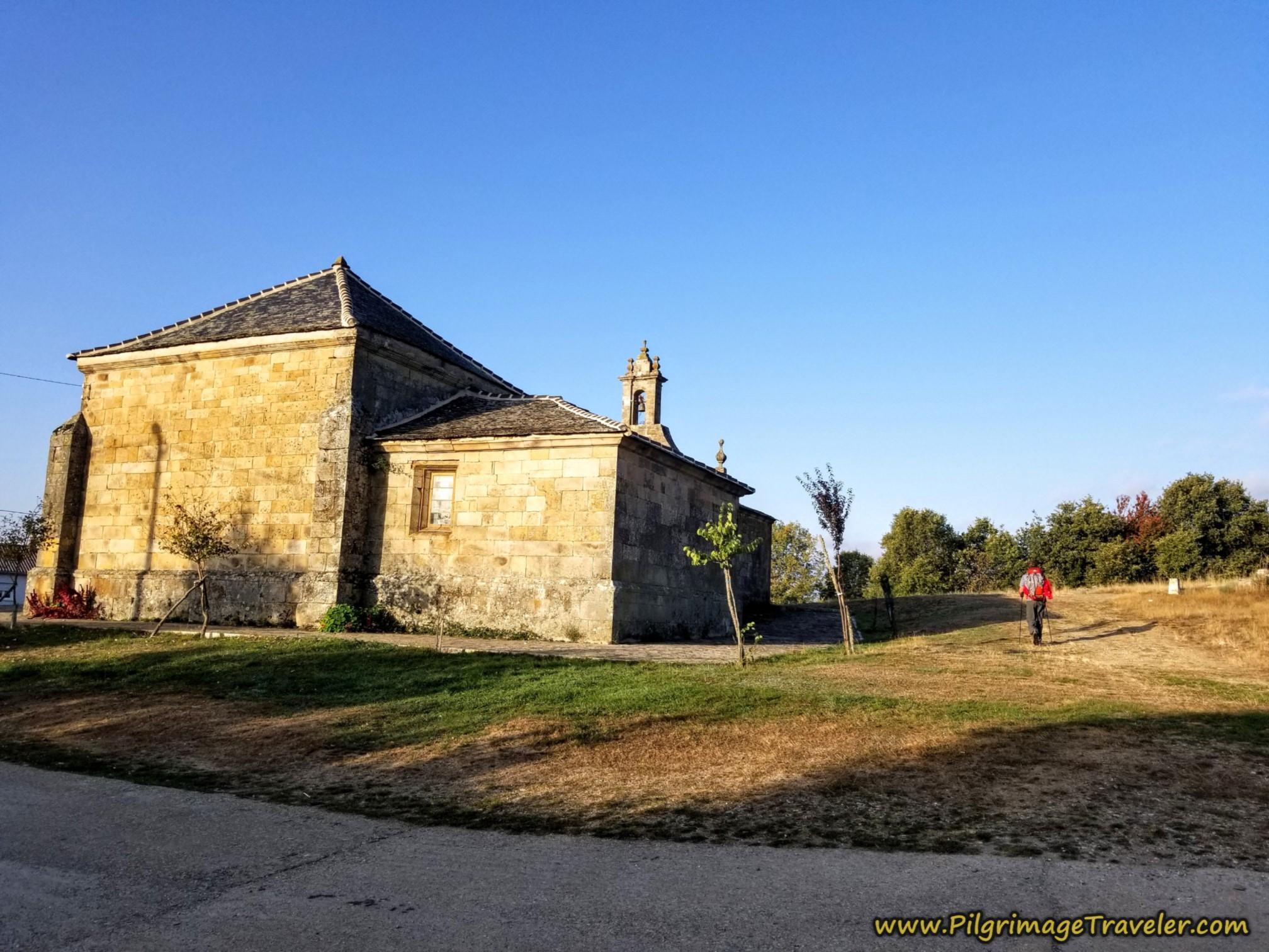 Ermita de La Encarnación, Palacios de Sanabria on the Camino Sanabrés from Entrepeñas to Puebla de Sanabria