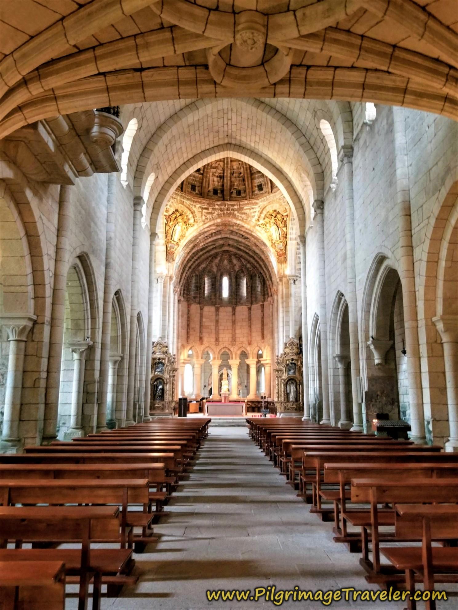 Central Nave of Monastery Church, Mosteiro de Oseira