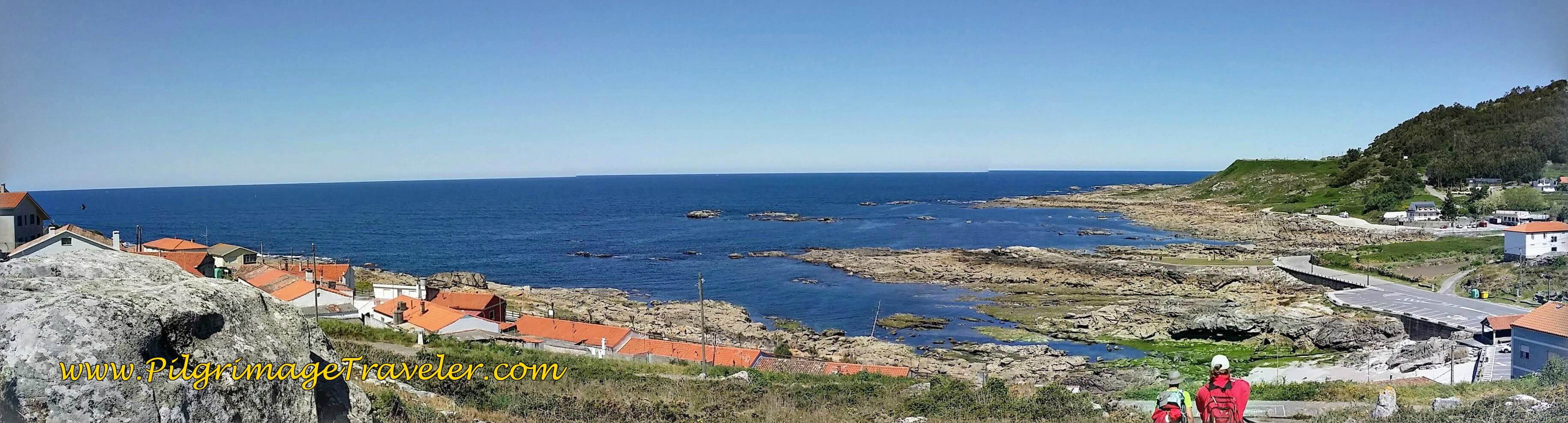 Photo-Stitched Version of the Grand View on Day Nineteen of the Portuguese Way