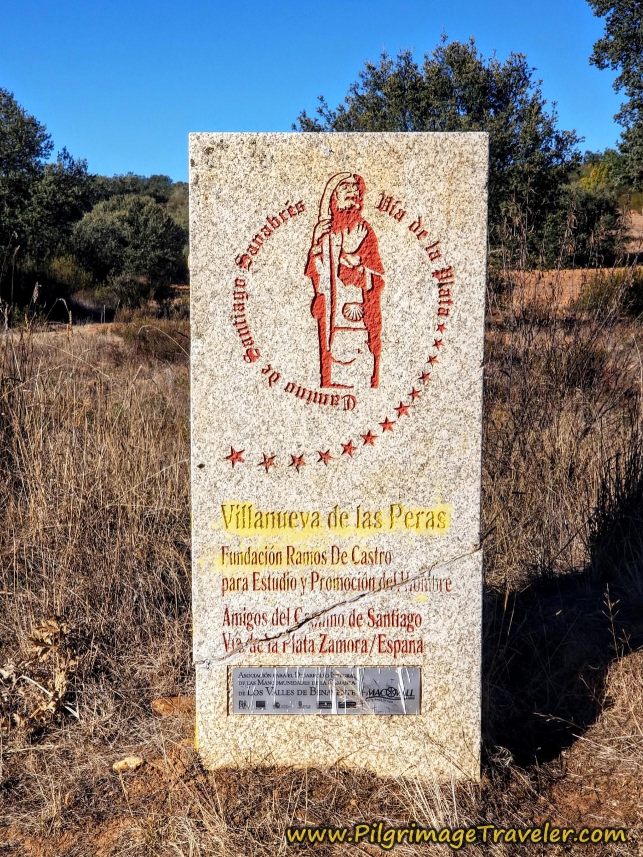 Villanueva de la Peras Placard