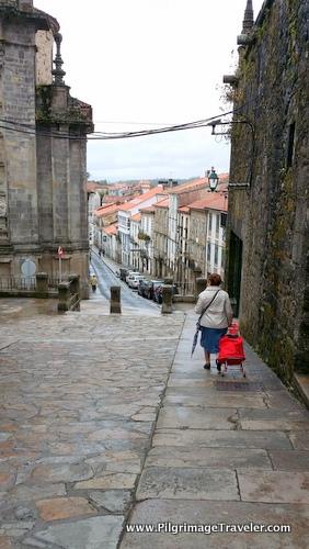 Rúa das Hortas, Santiago de Compostela, Spain