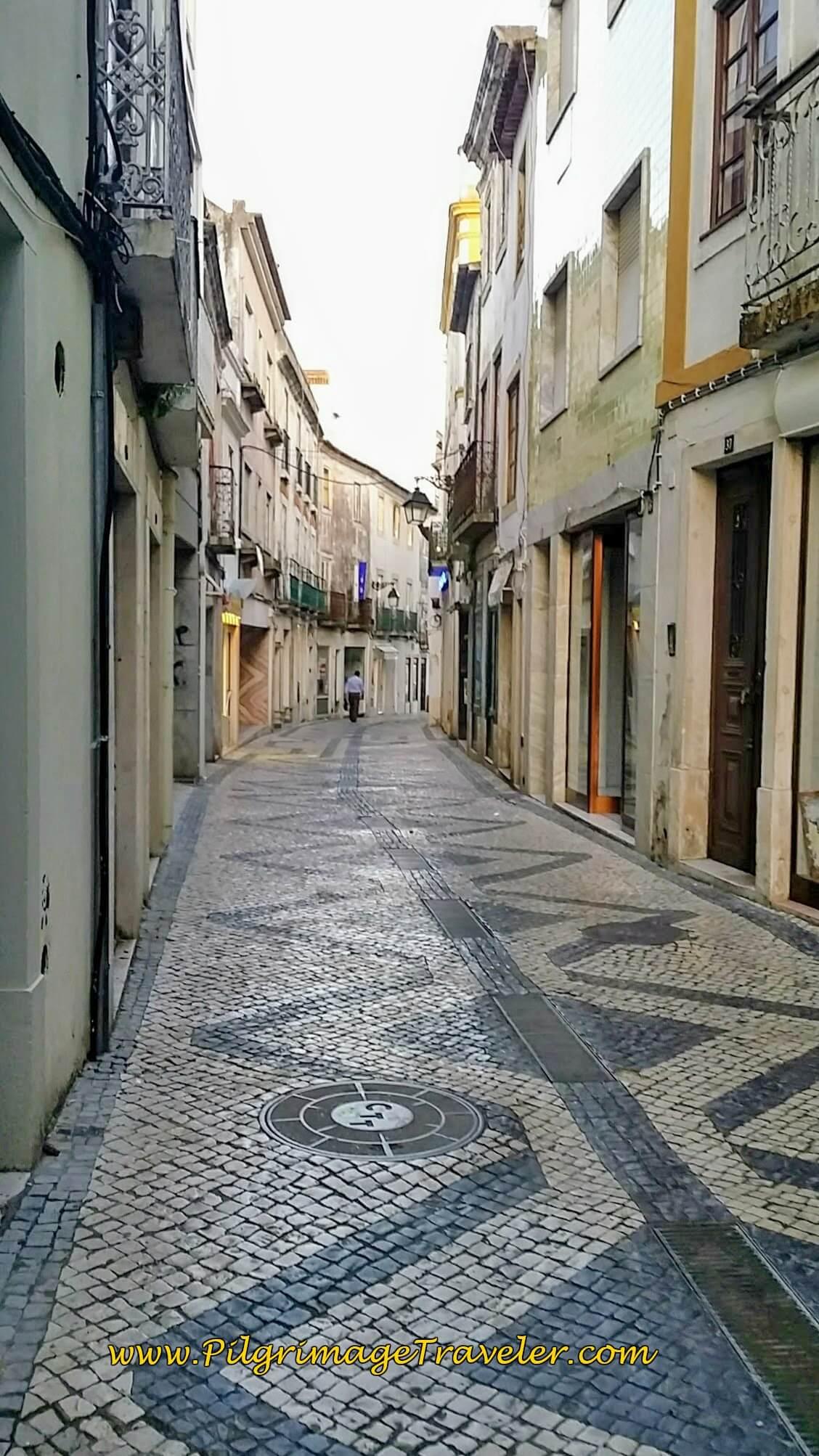 Rua Serpa Pinto Porto, Santarém, Portugal