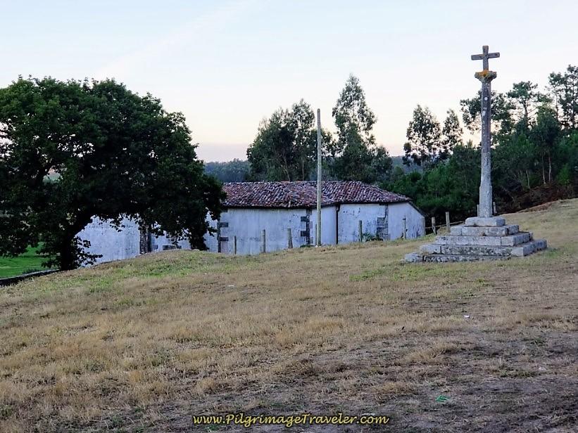 A Virxe do Espiño Church on day three of the Camino Finisterre to Muxía