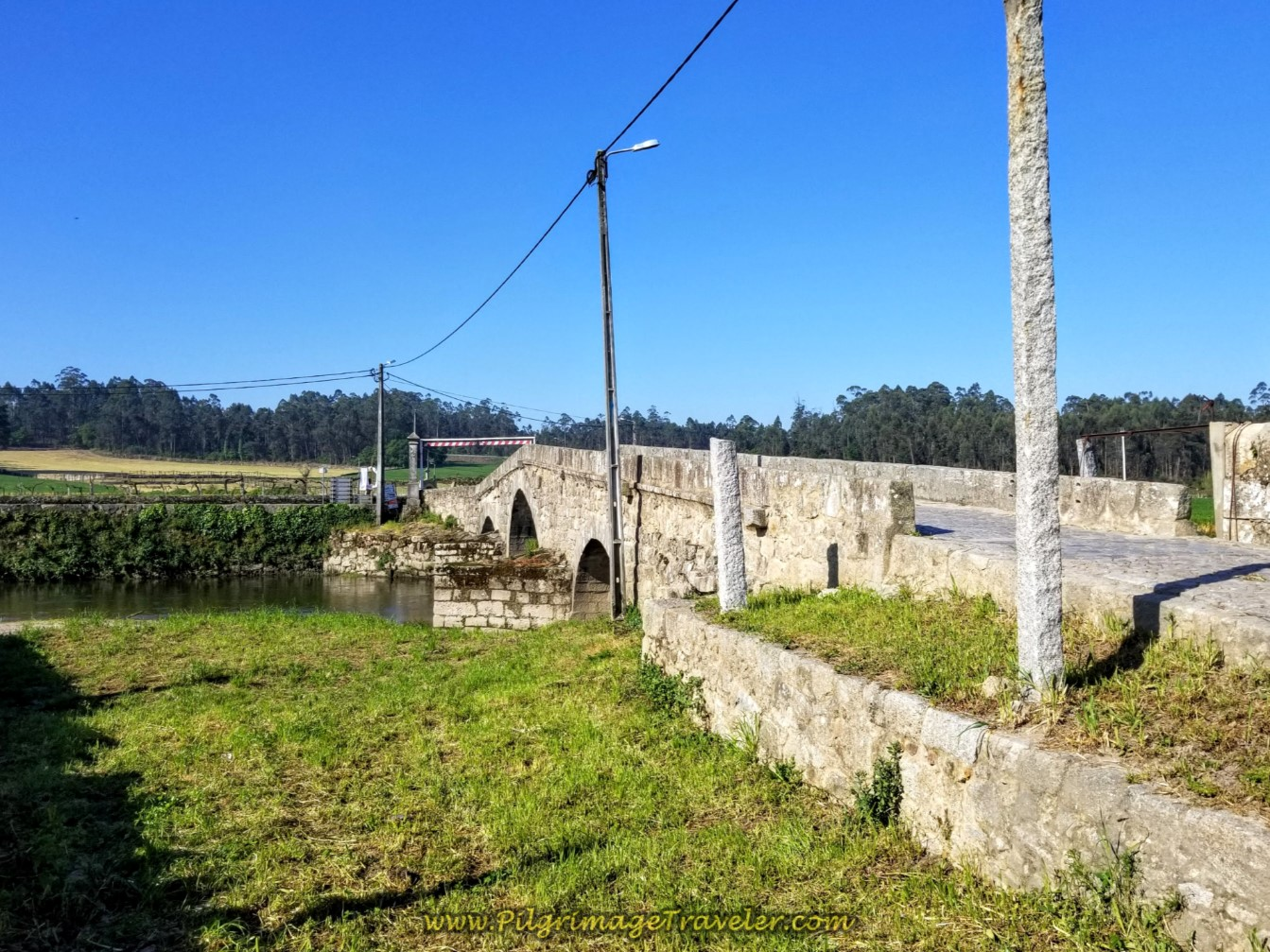Ponte de Arcos on day sixteen on the Central Route of the Camino Portugués