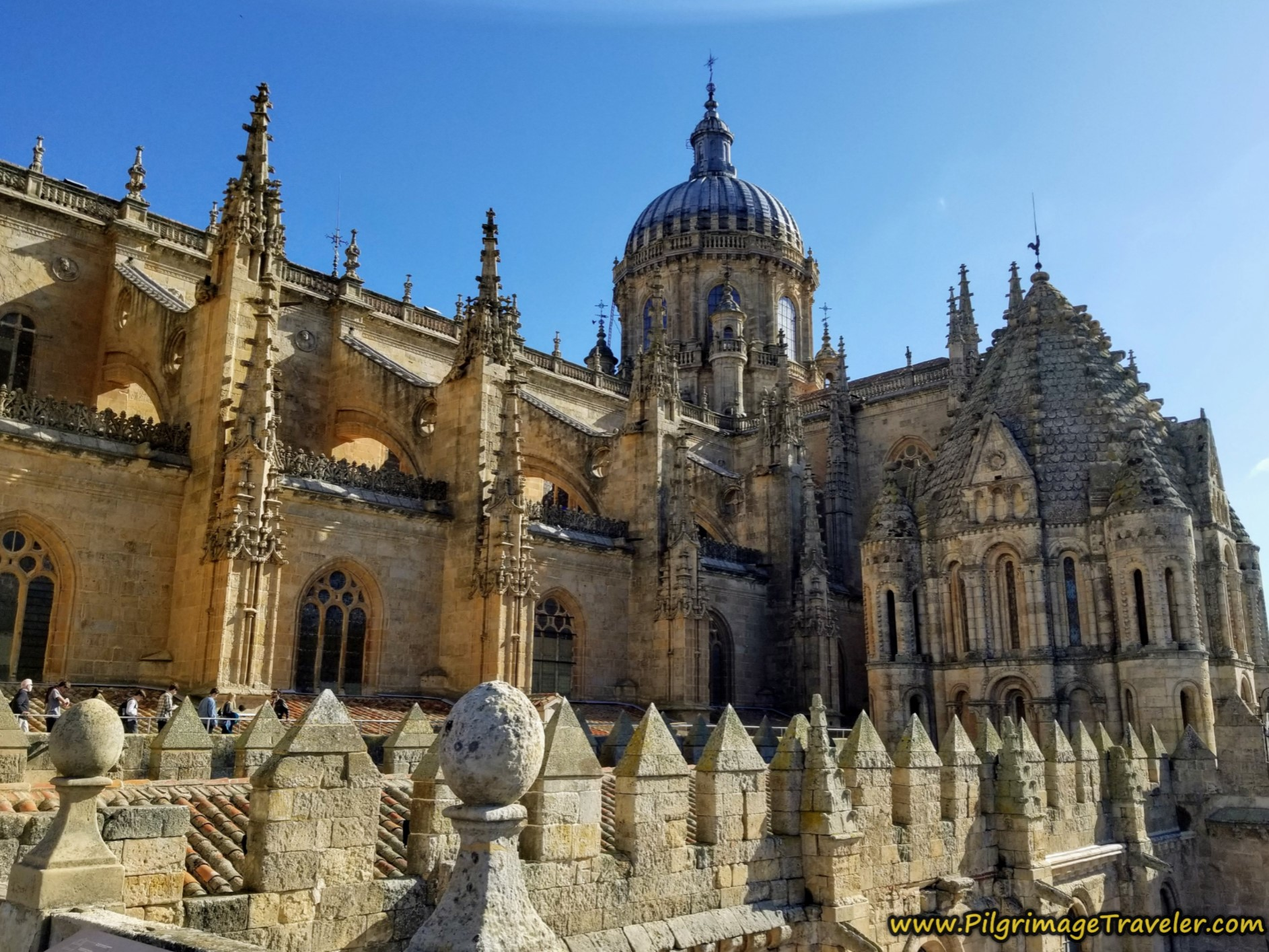Rooftop View of New Cathedral, Salamanca