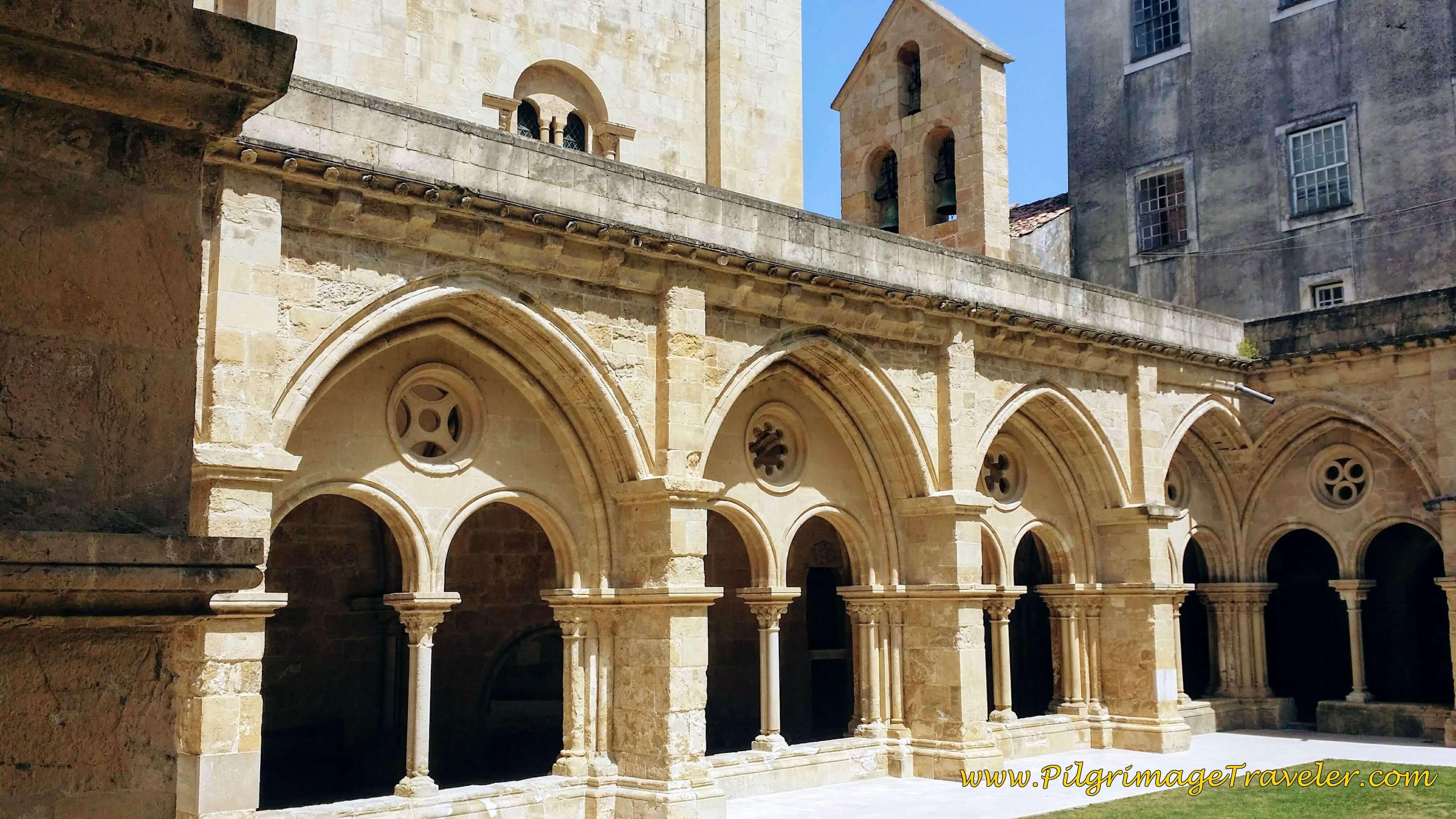 Gothic Style Cloister, 13th Century, Sé Velha, Coimbra Portugal