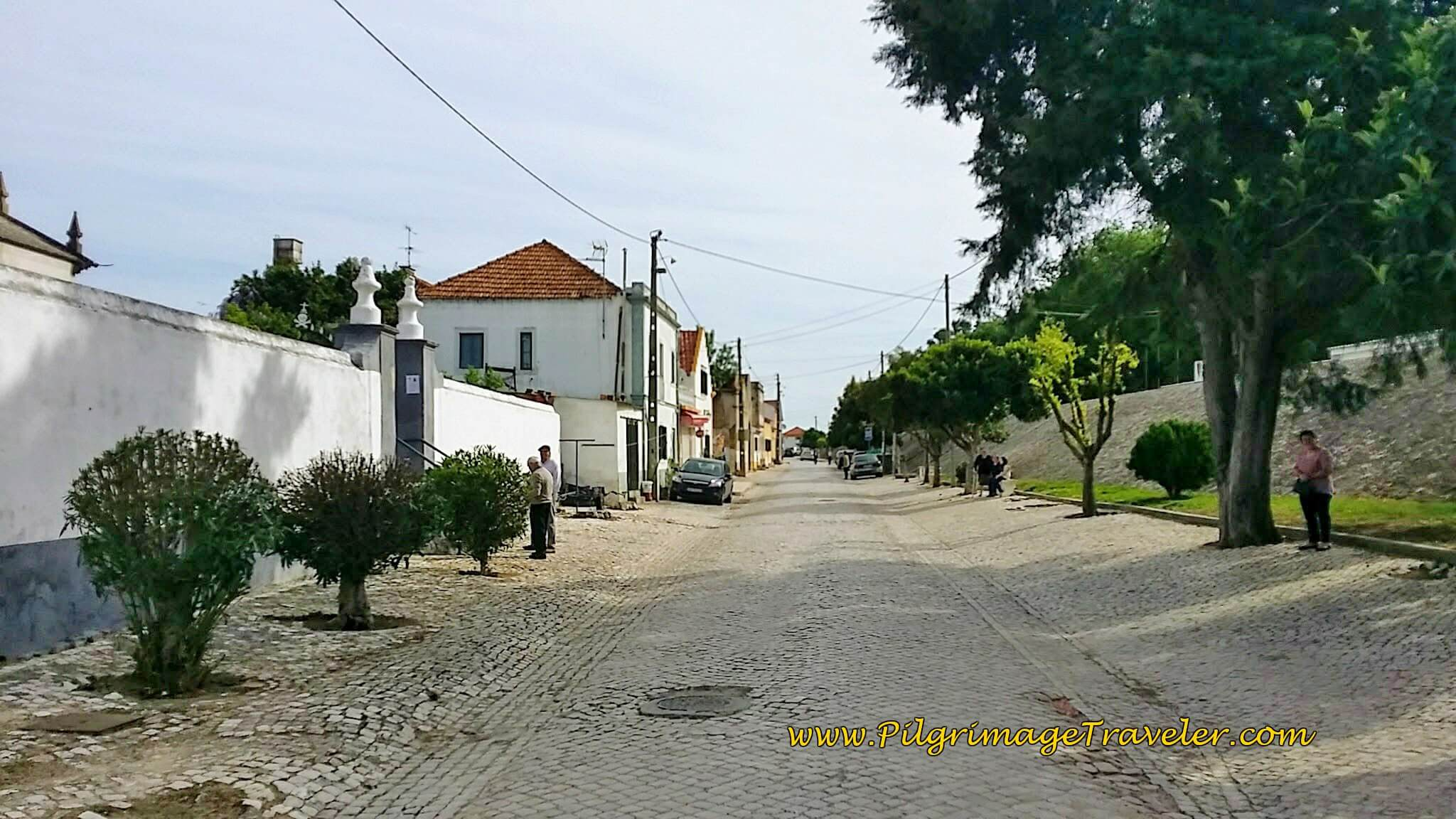 Entering Valada, Portugal on the Portuguese Way