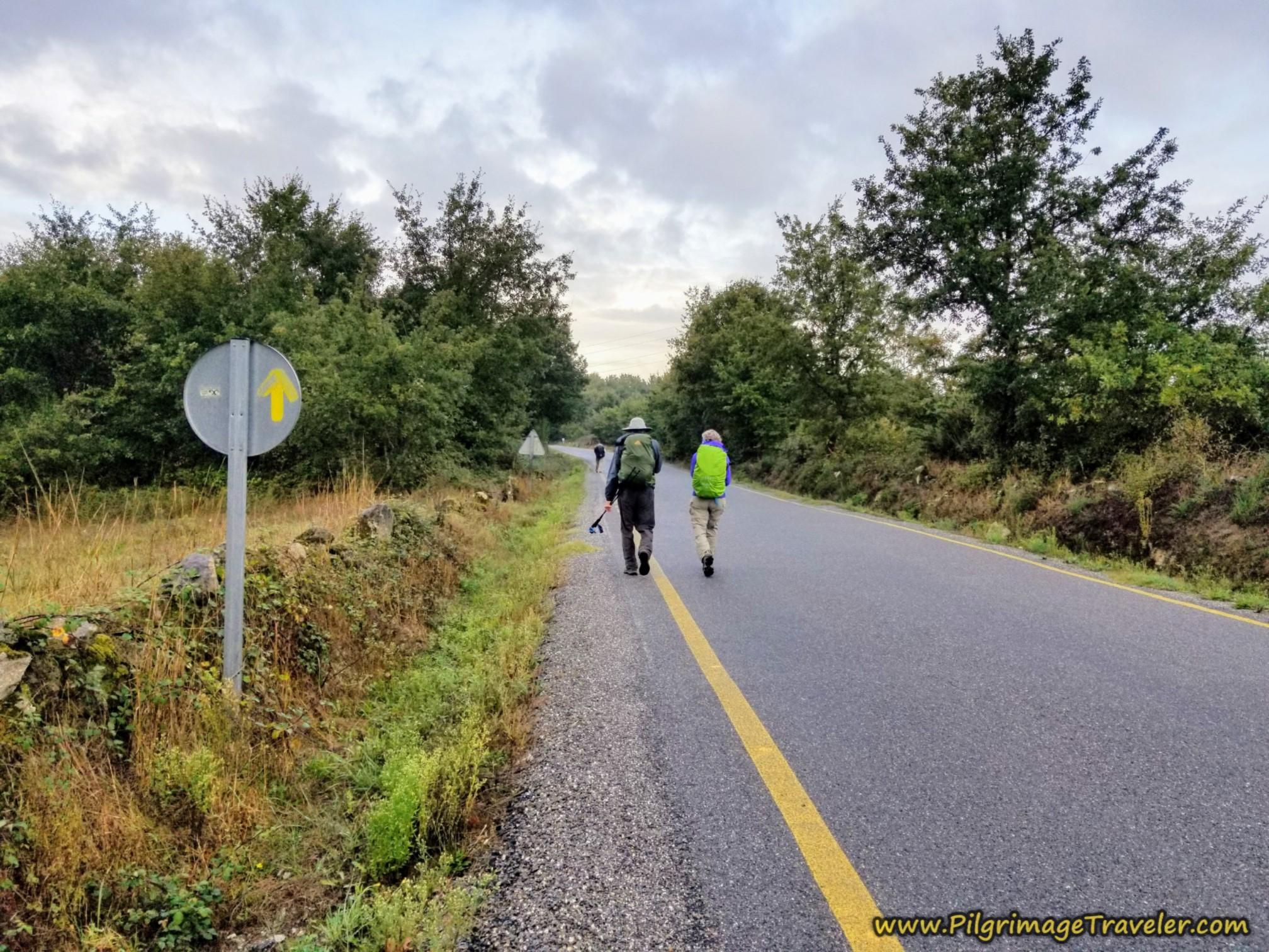 Long Road to A Venda do Río, Camino Sanabrés, Xunqueira de Ambía to Ourense