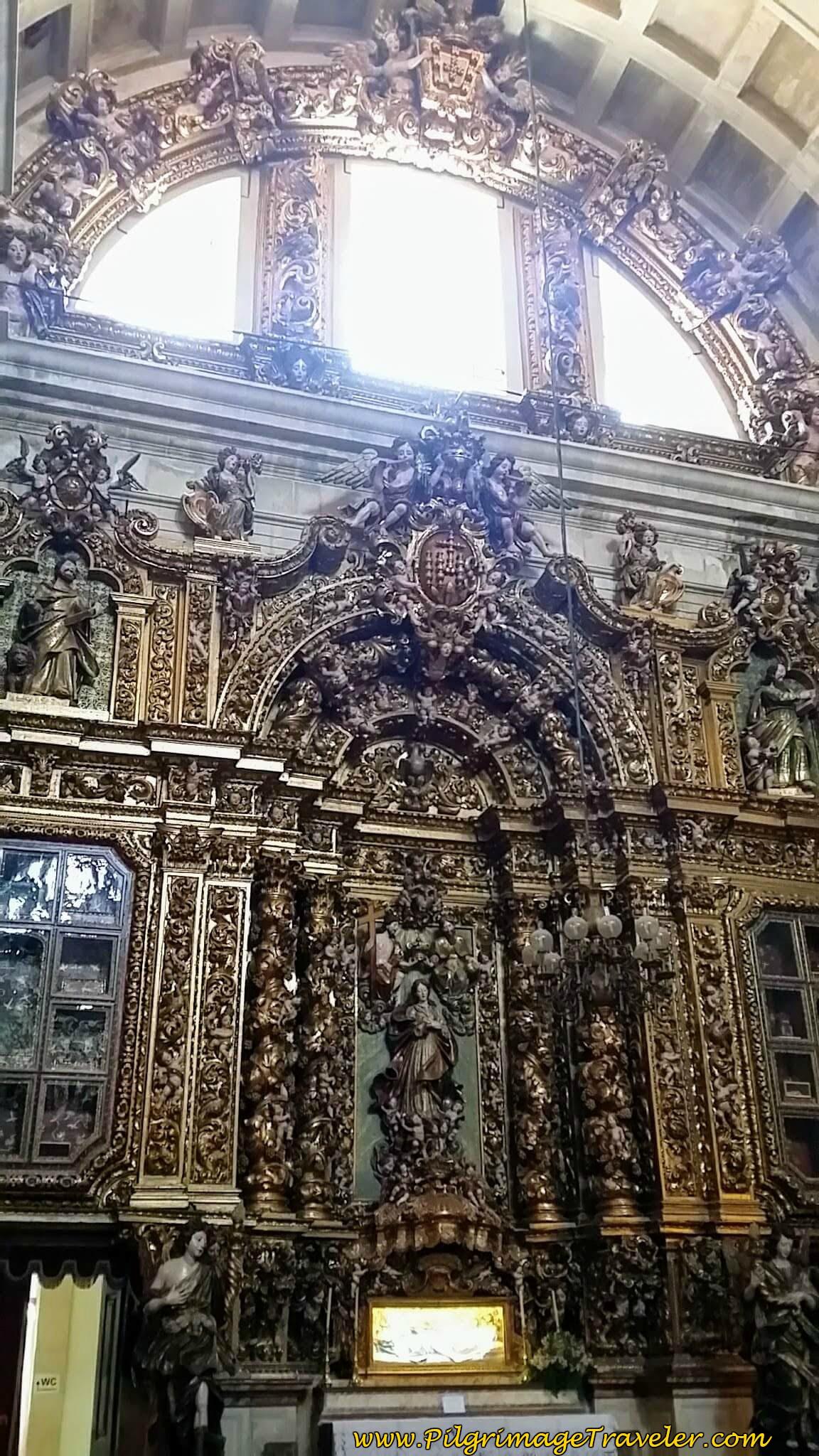 Side Altar, Sé Nova de Coimbra, Portugal
