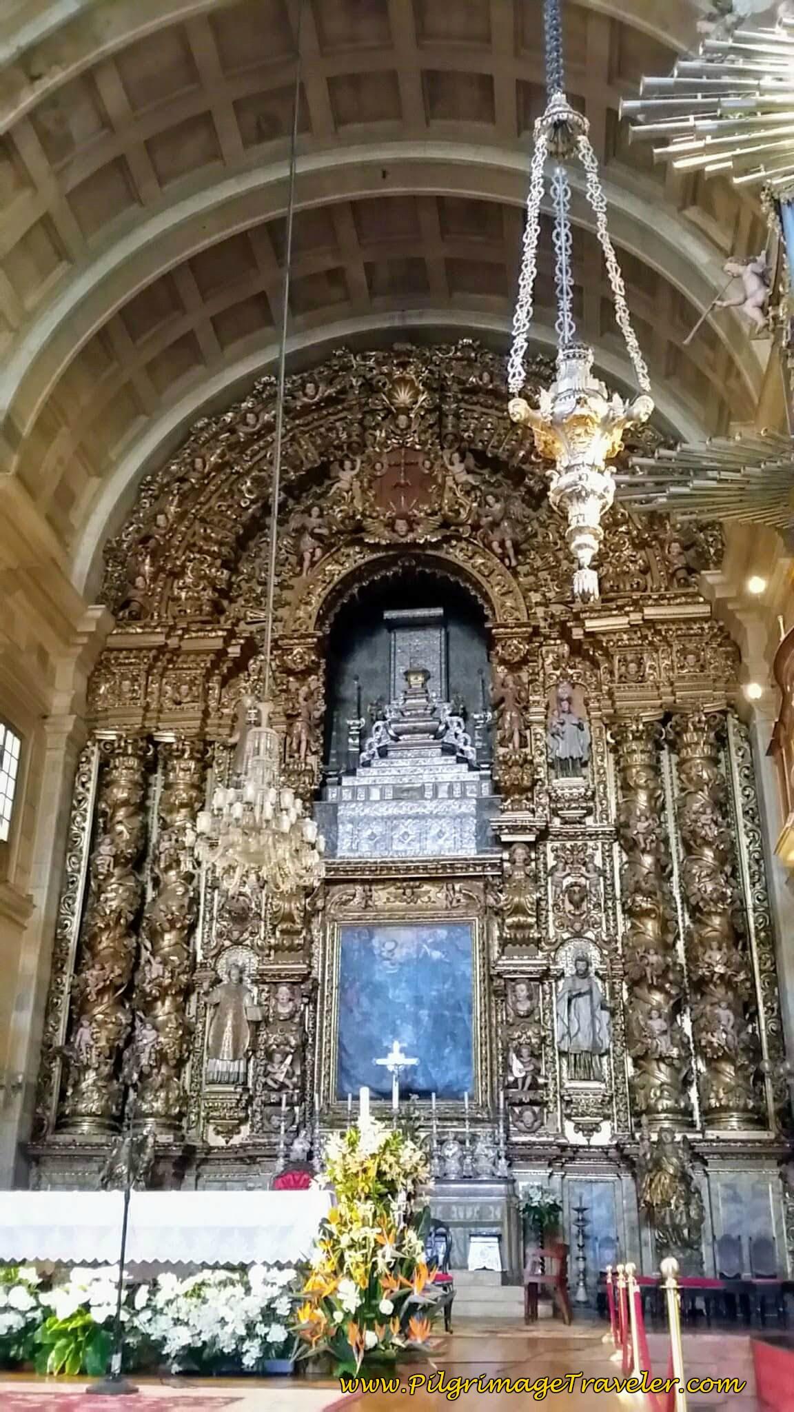 Main Altar, Sé Nova de Coimbra, Portugal