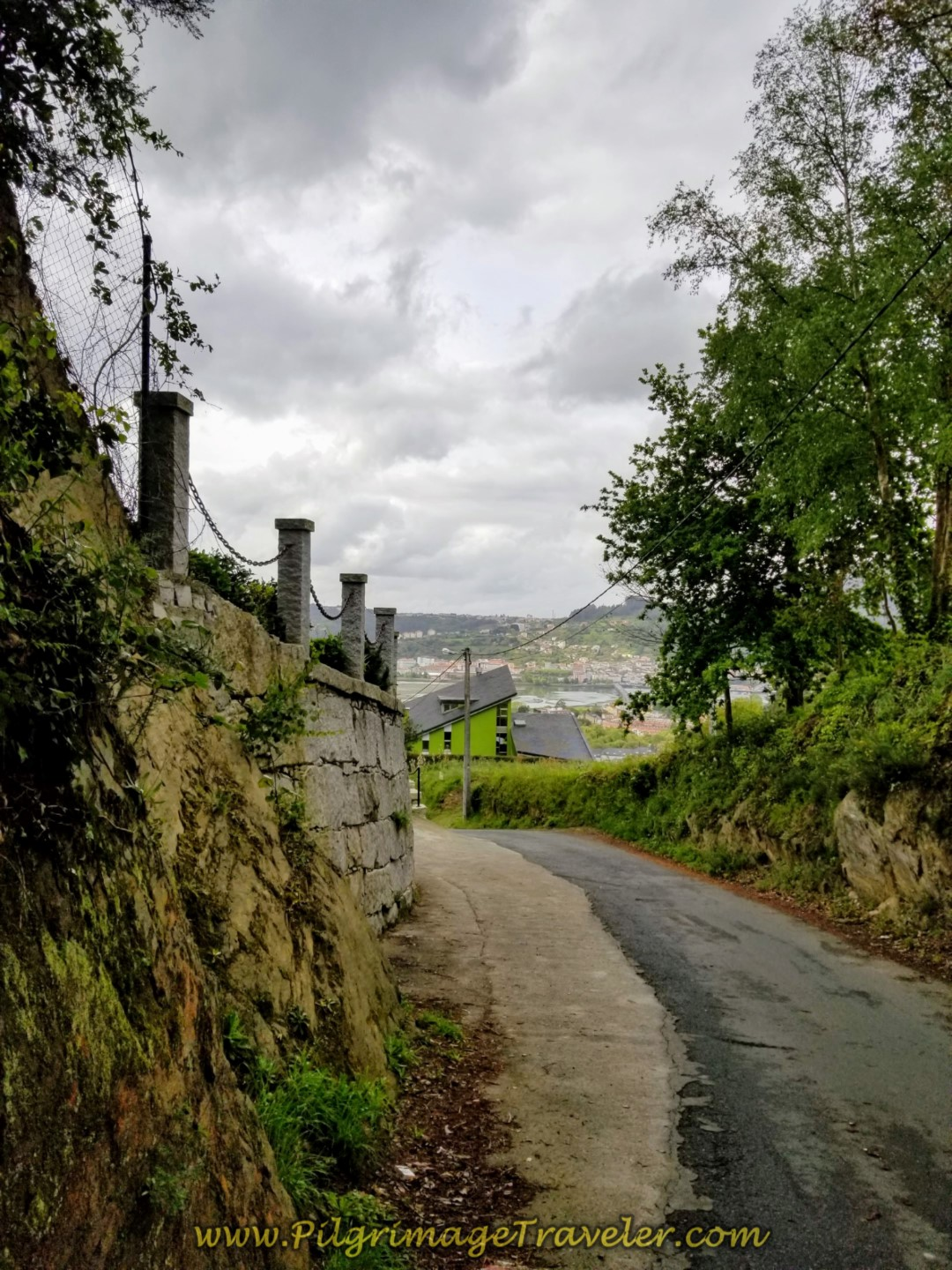 Continue on the Camiño do Cadivas on day two of the English Way