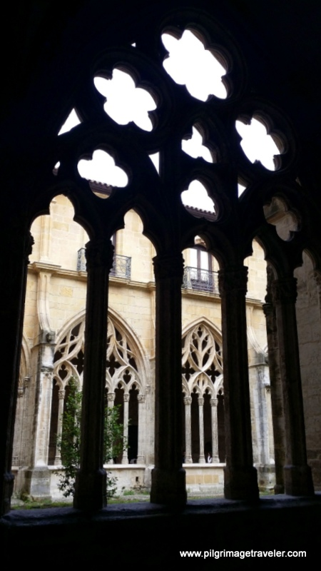 Cloister Window, Cathedral of San Salvador, Oviedo, Spain