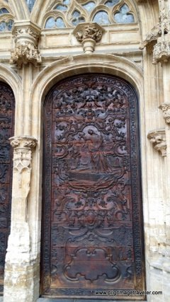 Cathedral Door, Oviedo, Spain