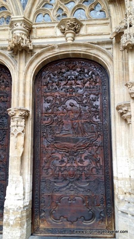 Cathedral Door, Oviedo, Spain