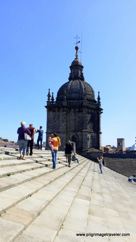 Central Tower, Rooftop of the Cathedral of Santiago de Compostela, Spain
