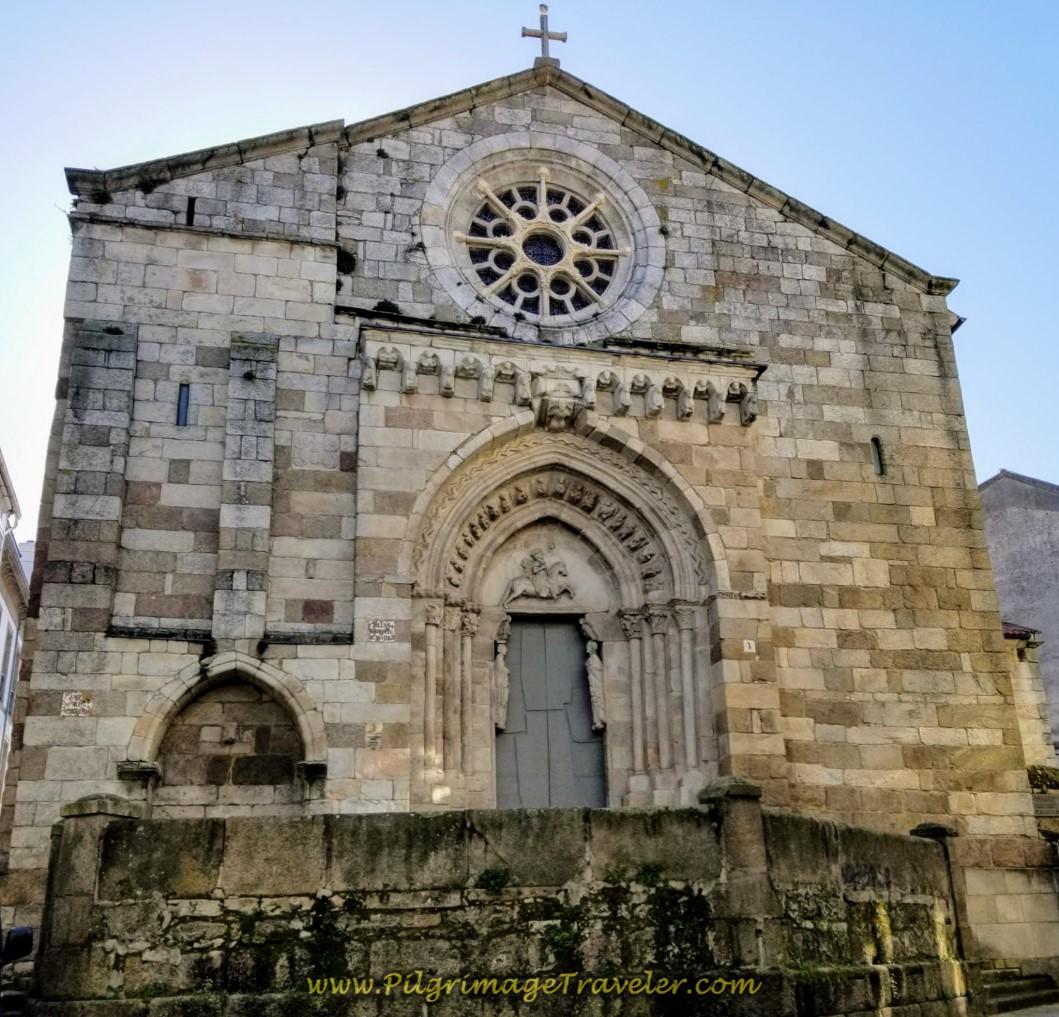 Igrexa de Santiago, La Coruña, day one of the La Coruña Arm of the Camino Inglés