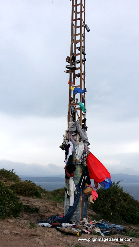 Clothes on the Tower on Cabo Finisterre, Spain