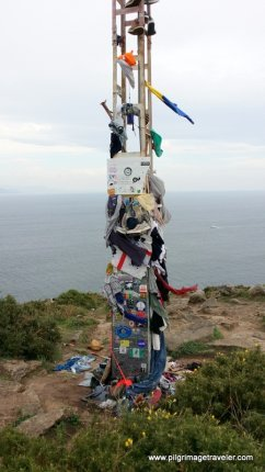 Momentos on the Tower at Cabo Finisterre, Spain
