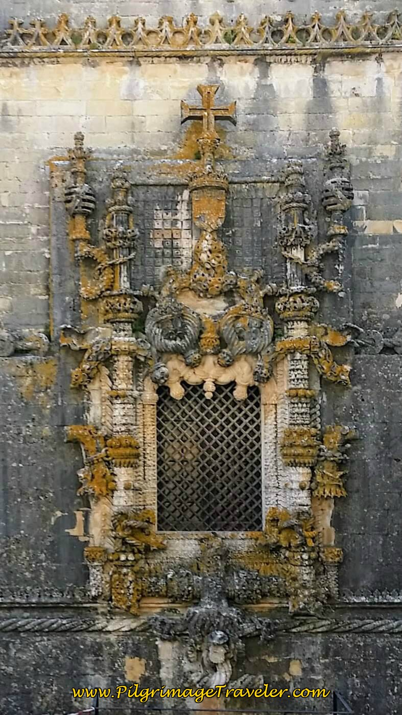 The Famous Manueline Window on the Western Facade of the Chapel, Convent of Christ, Tomar