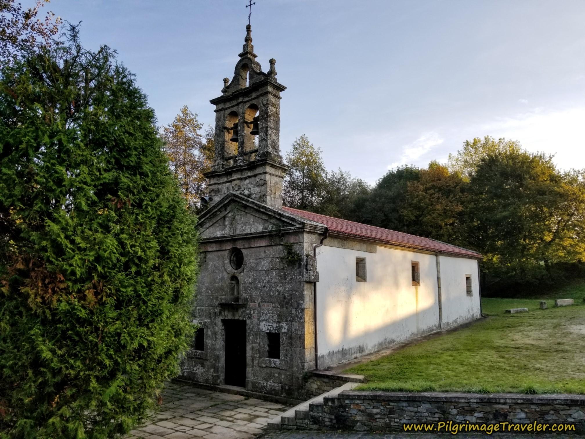 Ermita de Santa Lucía on the Camino Sanabrés from A Susana to Santiago de Compostela