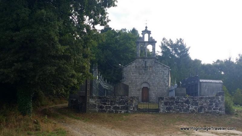 Souto de Torres Church on the Outskirt of Town, Souto de Torres, Galicia, Spain