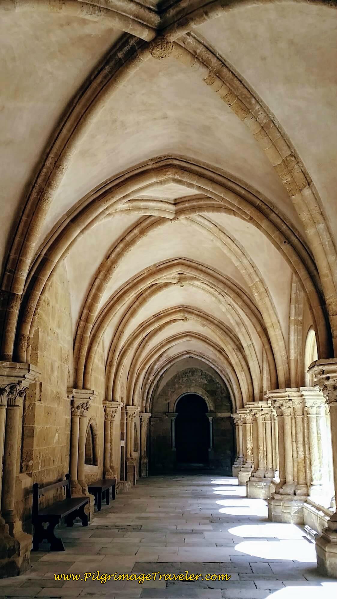 Sé Velha Cloister, Coimbra Portugal