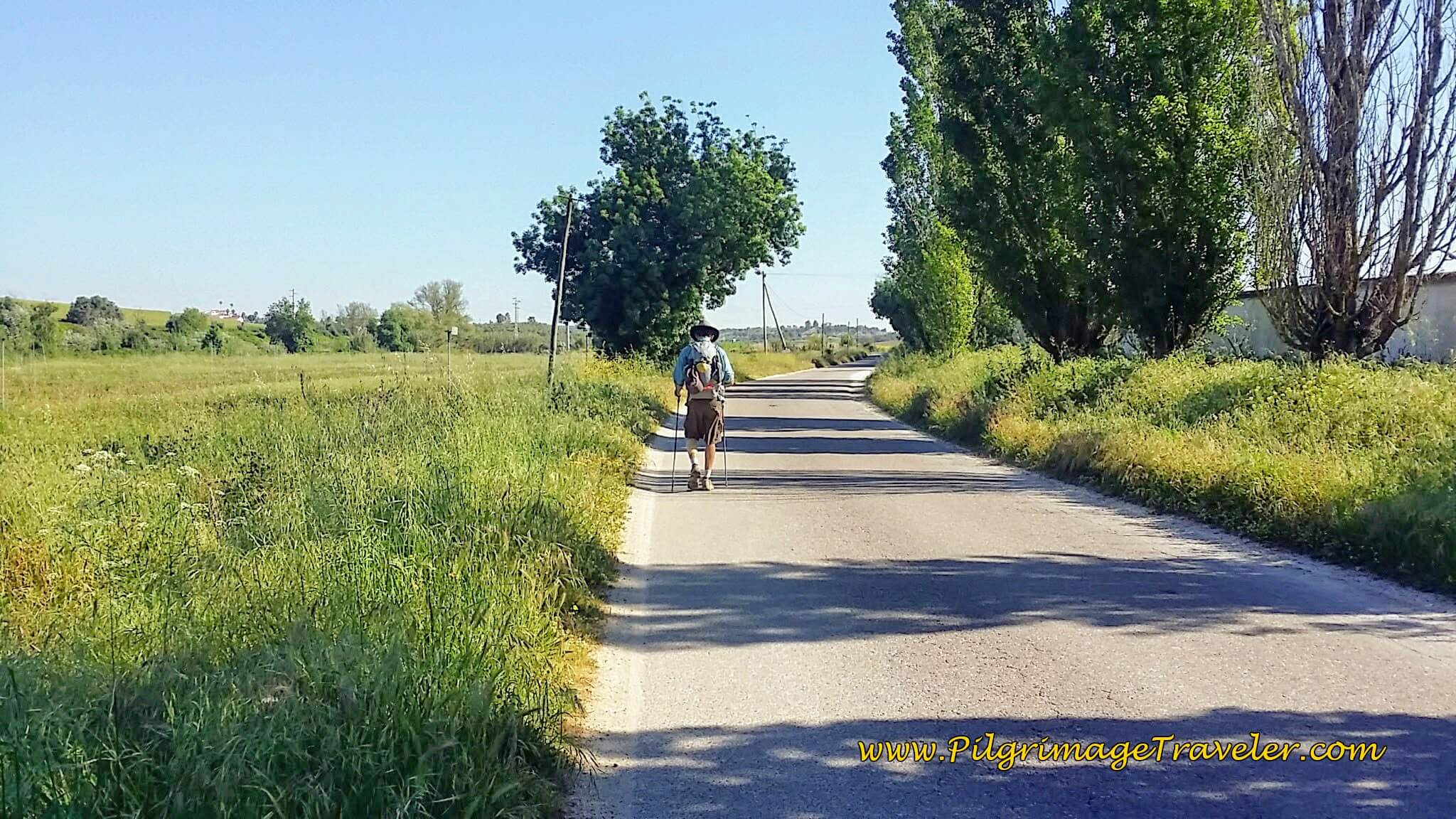 One Kilometer to go to Vale de Figueira