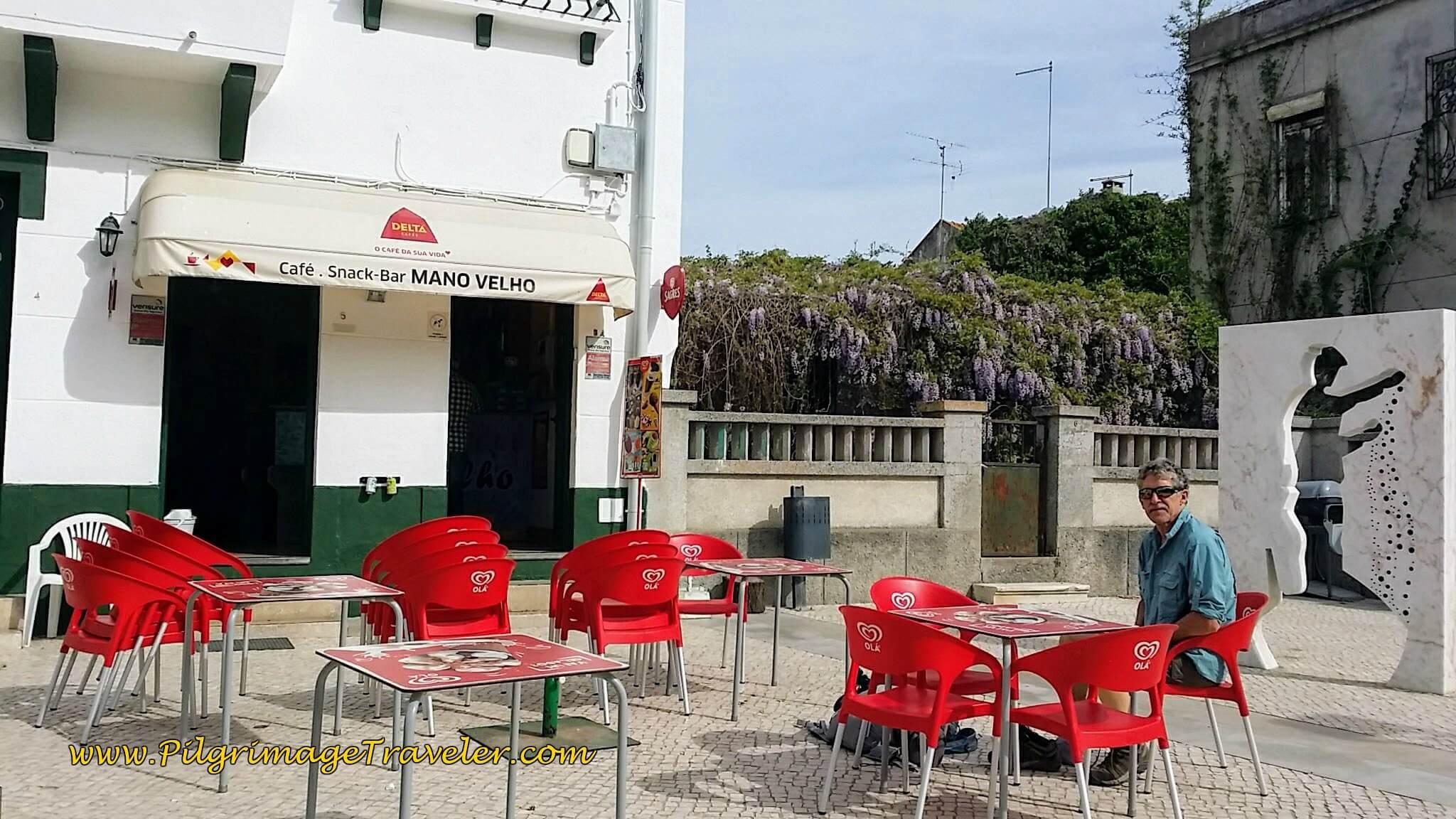 Café Mano Velho in Valada, Portugal