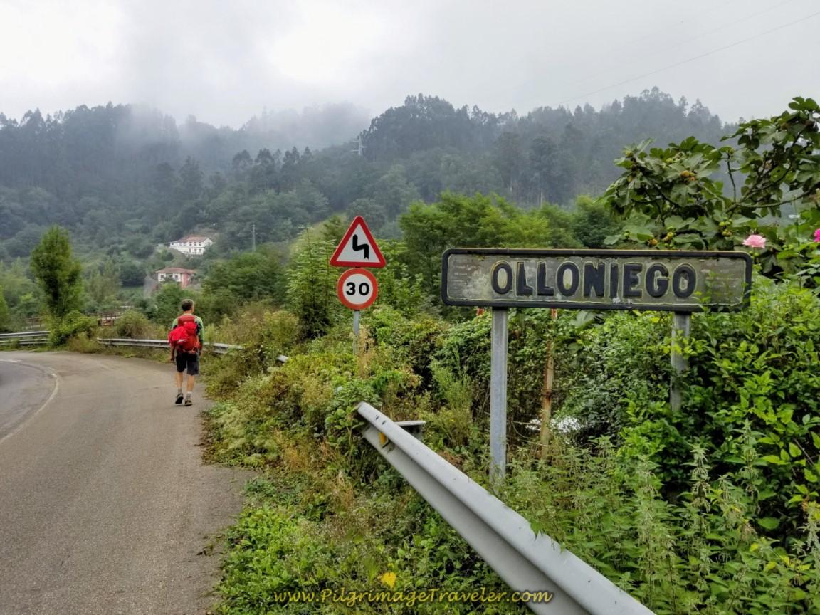 Entering Olloniego