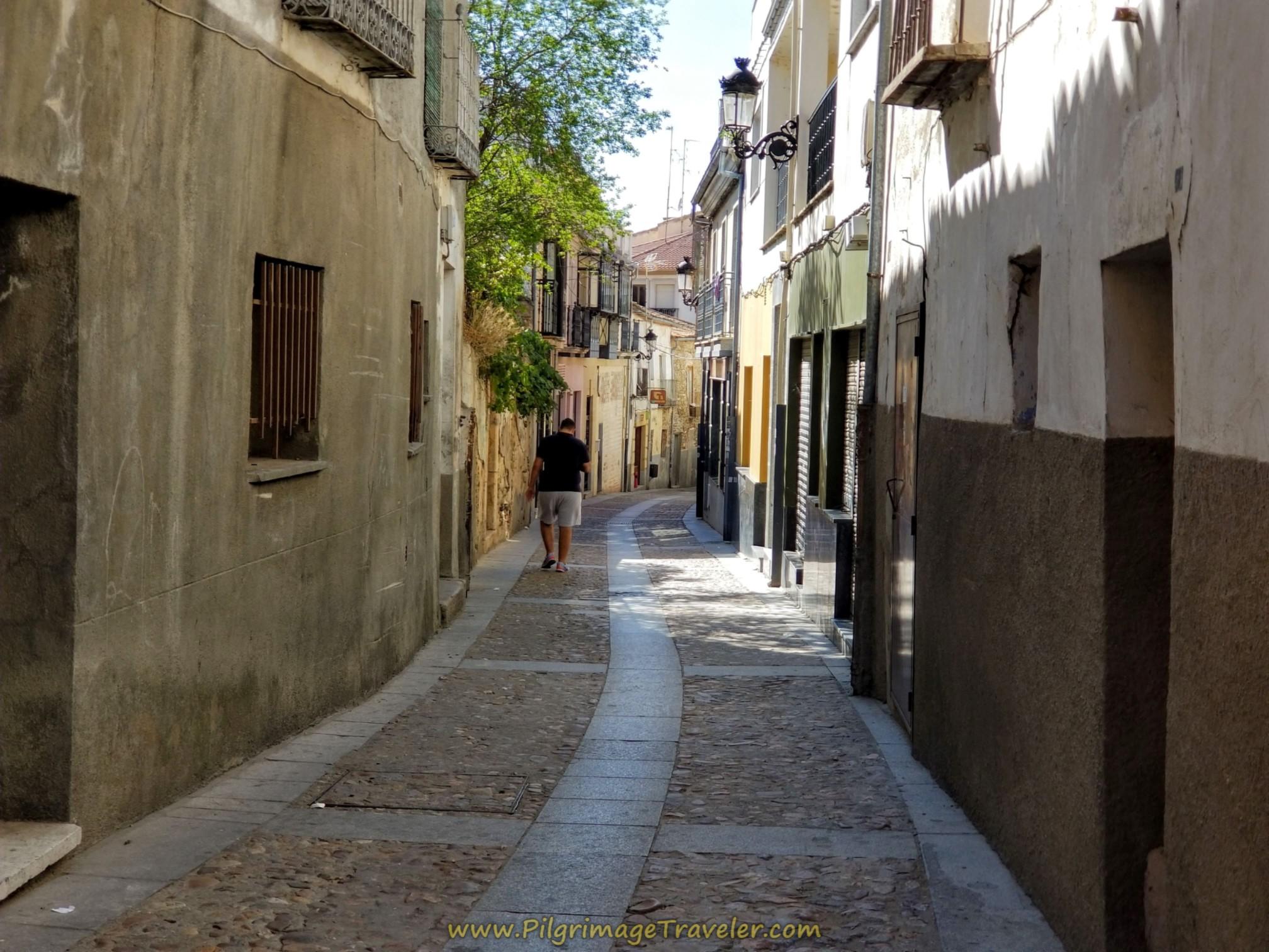 Immediate Right Onto Calle Manterola