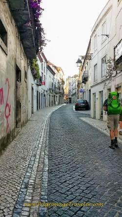 Rua Joâo Afonsa, Santarém, Portugal