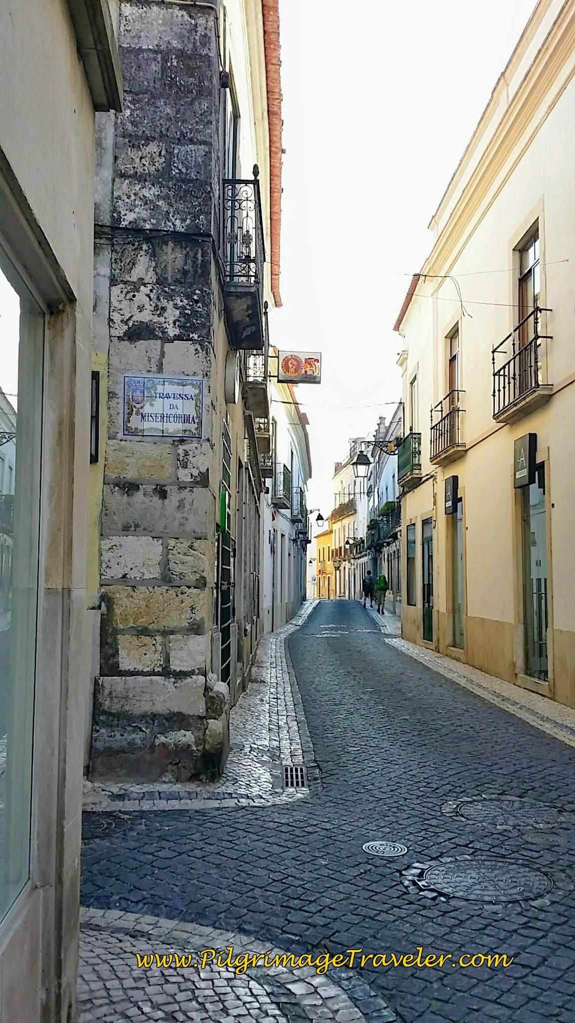 Rua Primeiro de Dezembro, Santarém, Portugal