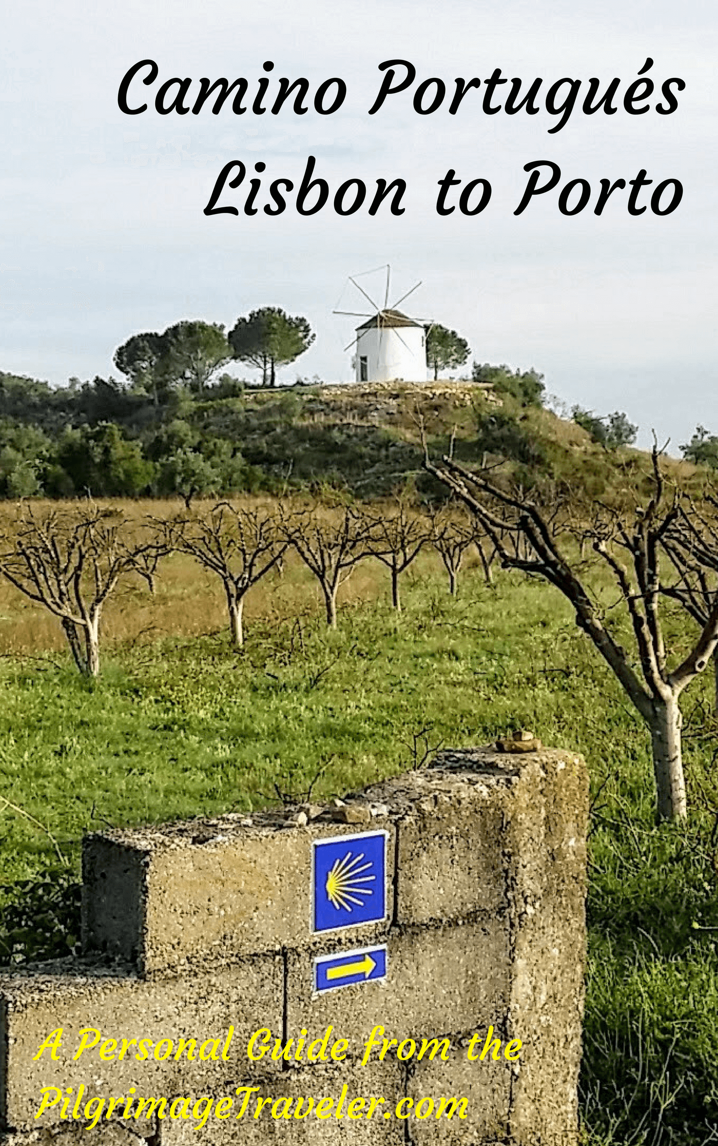 Camino Portugués Guide, Lisbon to Porto Downloadable EBook
