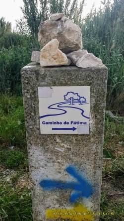 Shared Camino Routes, Santiago and Fátima Waymark