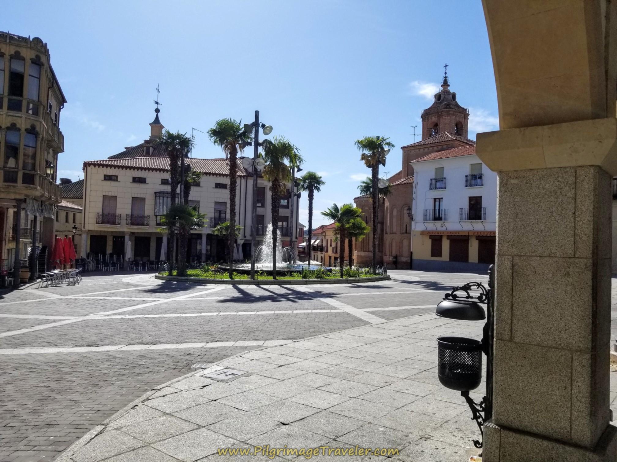 Plaza Mayor, Alba de Tormes