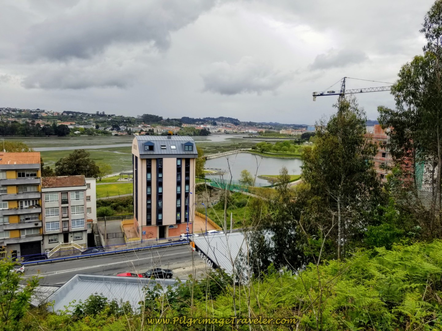 More Views of the Ria da Coruña Below on day one of the La Coruña Arm of the Camino Inglés